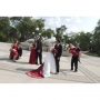 <p>Winnipeg Photographer - Lloyd Rempel - bridal party at fountain - www.lrpv.ca</p>